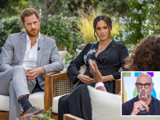 Meghan Markle and Prince Harry's explosive Oprah interview misses out on Emmy to Stanley Tucci's food show