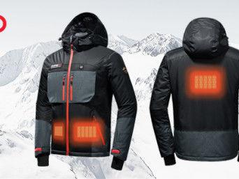 Power-Heated Graphene Coats - The Humbgo XG Jacket Boasts Graphene Nanotech Material for Extra Heat (TrendHunter.com)