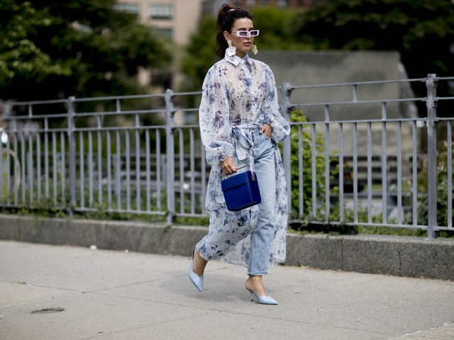 This particular shade of blue is the colour you'll be wearing come spring