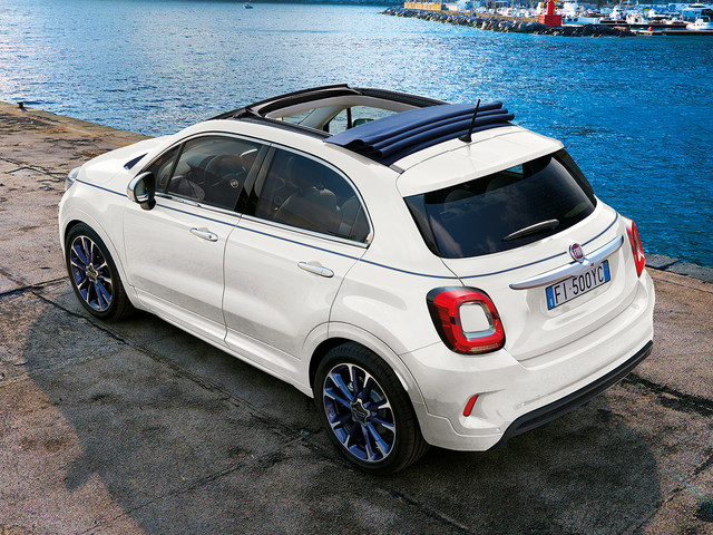Fiat 500X crossover gets new convertible option for £23,975