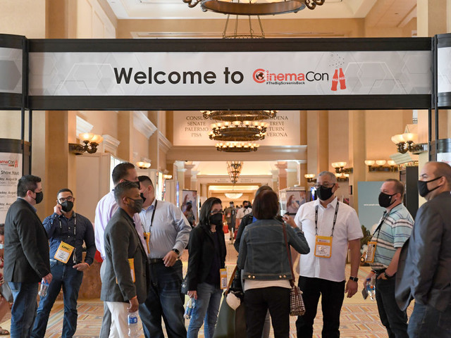 How Movie Theater Owners Are 'Learning to Live With COVID': A Report From CinemaCon