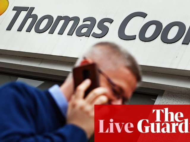 Thomas Cook in rescue talks with China's Fosun - business live