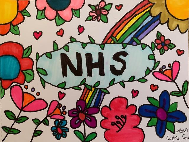 North-east kids create artwork for NHS Grampian comfort boxes