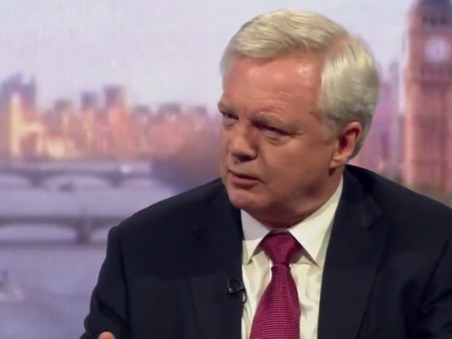 David Davis Admits He's Not Sure The UK Will Get A Brexit Deal