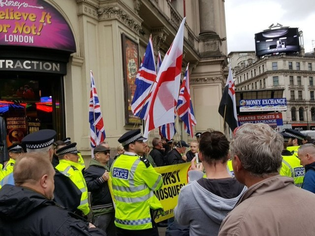 March Against Racism Demo Attracts Thousands, Including Britain First, To Central London