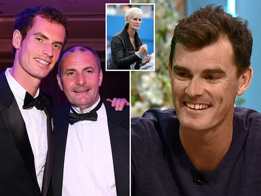Andy Murray's DAD was the driving force behind his sons tennis career, say brother Jamie