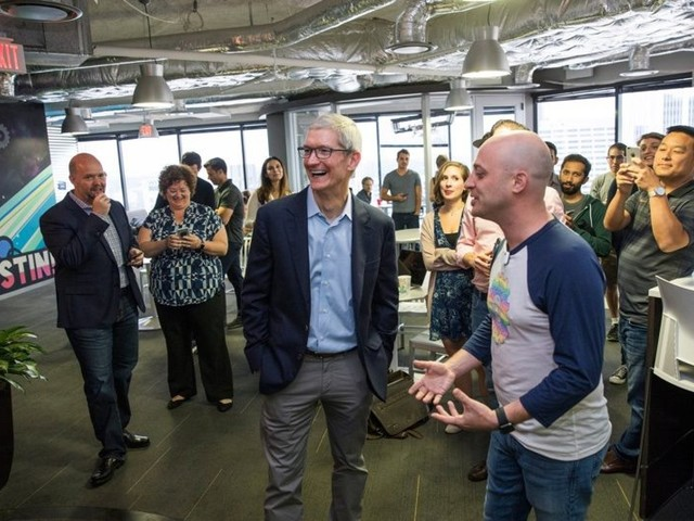 Apple CEO Tim Cook: 'We Have a Moral Responsibility to Help Grow the Economy'