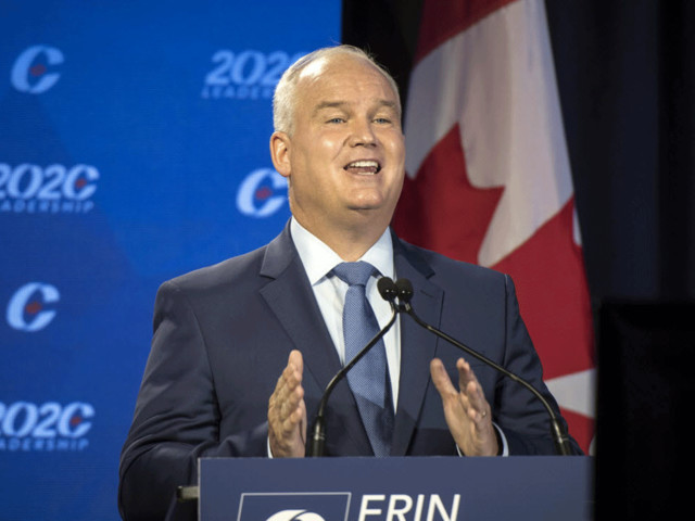 Erin O'Toole wins Conservative leadership race on the third ballot