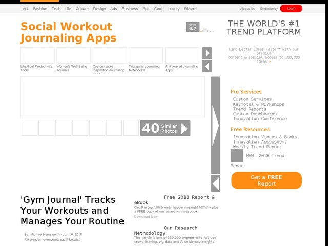social workout journaling apps gym journal tracks your workouts