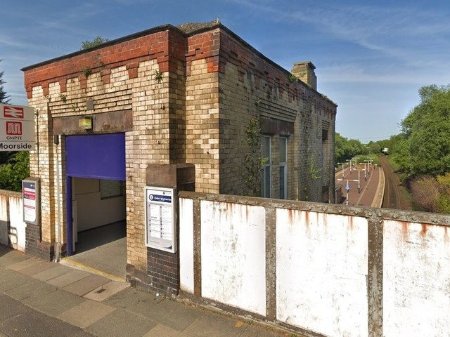 Firefighters tackle blaze at Moorside train station weeks after it reopened following refurbishment work