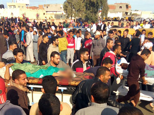 In Egypt's Deadliest Attack, Over 230 Killed At Mosque In ISIS Hotbed