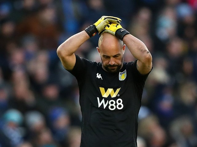 'Rubbing off' - How Dean Smith rated Pepe Reina's Aston Villa debut