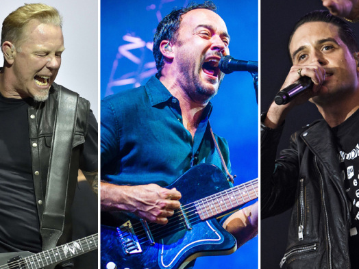 Metallica, Dave Matthews Band, G-Eazy to Play Fire Benefit Concert in San Francisco