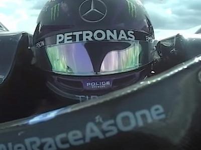 Lewis Hamilton's Last Lap in the 2020 F1 British GP Was a Thriller
