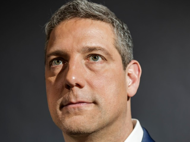 Tim Ryan, the newest Democratic presidential candidate, thinks Trump is telling 'a lie' about the future of the US and reveals how he would fix the economy