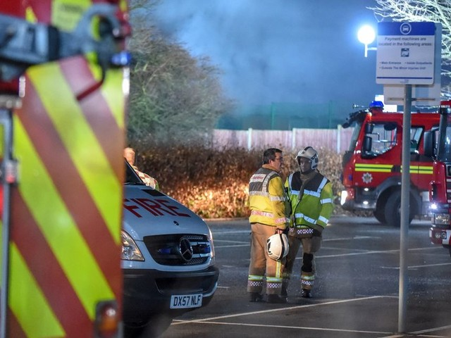 Tamworth's Sir Robert Peel issues update after dramatic fire sees man detained on suspicion of arson