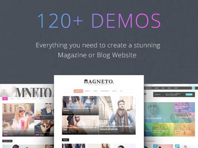 Magneto - Multi Concept Responsive WordPress Magazine and Blog Theme (Lite Version) (News / Editorial)
