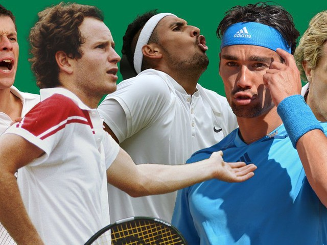 Wimbledon: The 10 greatest tantrums in the tennis game's history