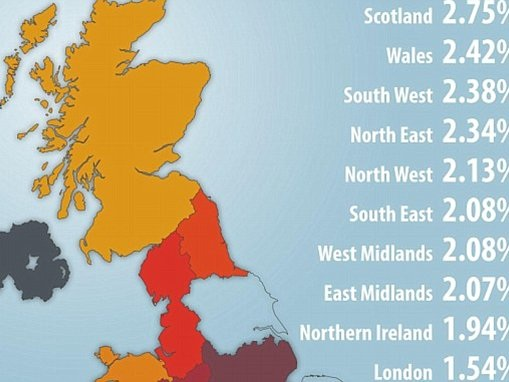 Scots are most likely to have a driving conviction