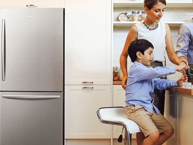 This bottom-freezer refrigerator is the best upgrade I've made to my small kitchen in 2020 — it makes accessing the food I use most much easier
