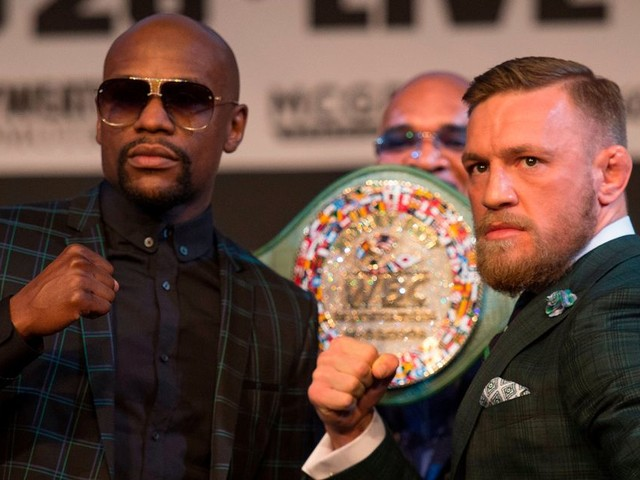 In full: Floyd Mayweather vs Conor McGregor final press conference video and transcript