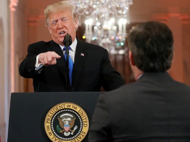 CNN sues President Trump and top White House aides for barring Jim Acosta - CNN