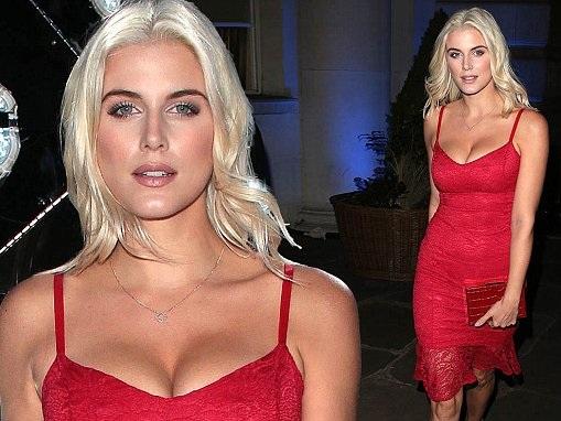 Ashley James attends Lipsy London VIP winter dinner