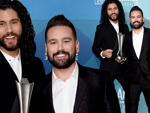 ACM Awards 2020 winners: Dan + Shay take home the award for Duo of the Year