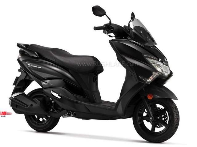 Suzuki Burgman Matte Black scooter launch price Rs 69,208