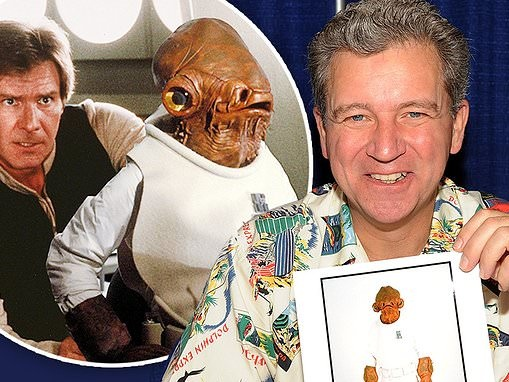Harrison Ford tried to get Admiral Ackbar puppeteer Tim Rose fired from Return Of The Jedi