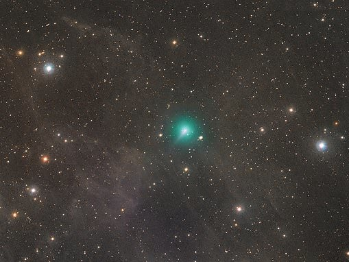 Comet FIVE times the size of Jupiter is set to light up the night sky