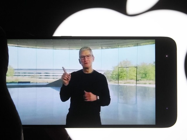 Apple's Tim Cook: Parler could return 'if they get their moderation together'