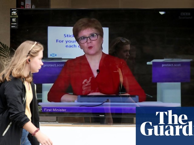 Sturgeon unveils five-level Covid lockdown rules for Scotland