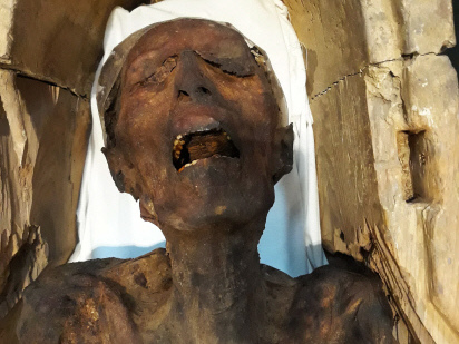 'Screaming Mummy' on display in Egypt