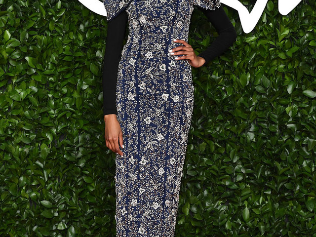 Ikram Abdi Omar In Ferona – The Fashion Awards 2019