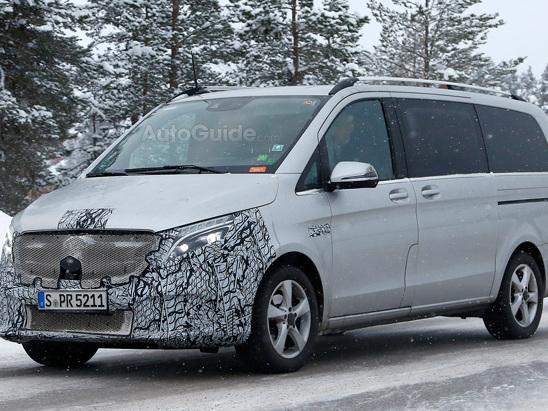 Mercedes is Giving its Van a Facelift