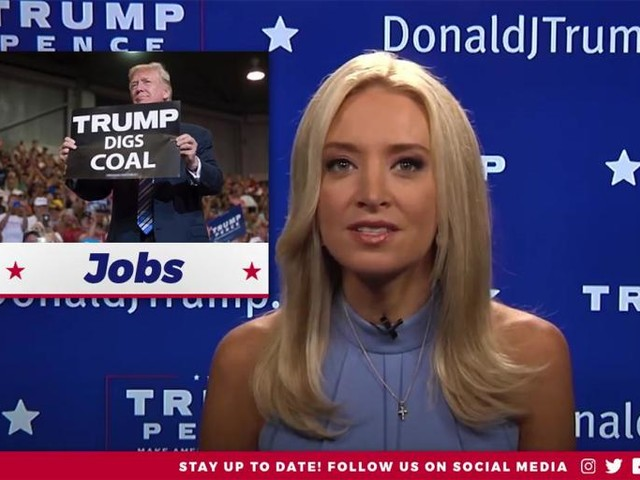 Kayleigh McEnany Skewers Trump in This Biting Parody of—Wait, She Means It? Never Mind.