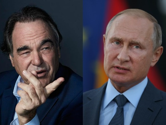 Oliver Stone Asks Vladimir Putin to Be His Daughter's Godfather
