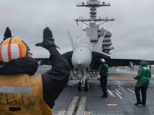 As the fleet grapples with coronavirus, the US Navy's newest aircraft carrier hit a major operational milestone