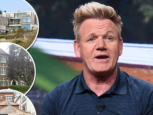 Gordon Ramsey amasses a further £6million fortune over the pandemic thanks to his TV stints