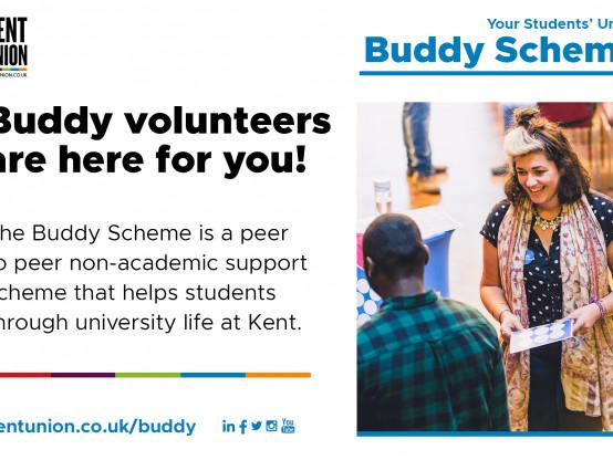 Join the Kent Union Buddy Scheme
