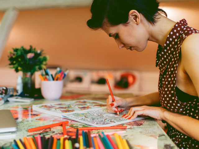 How Adult Colouring Books Can Help You Beat Stress