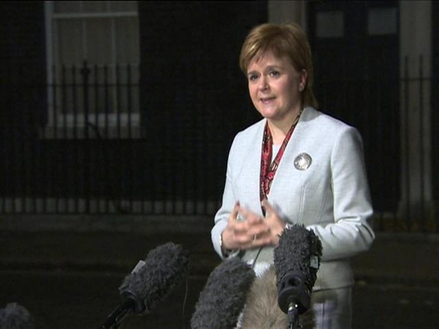 Nicola Sturgeon: Talks with Theresa May 'constructive'