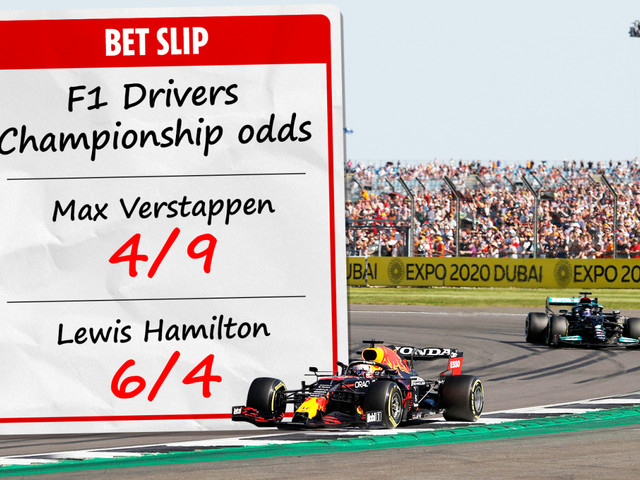 Verstappen is still odds-on favourite to win F1 world title despite Hamilton closing the gap with British GP victory