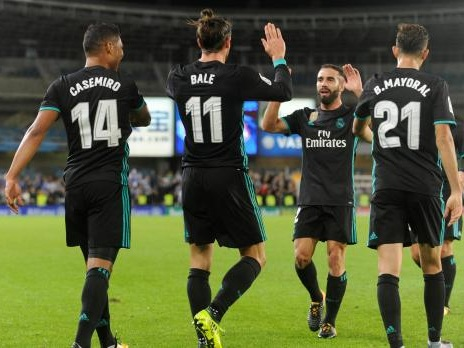 Madrid ease past Sociedad to overcome league blip