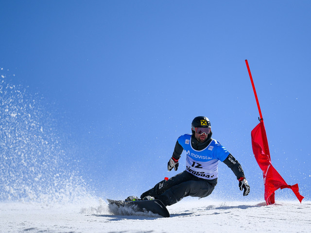 Prommegger wins second parallel giant slalom event in Pyeongchang to lead FIS Alpine Snowboard World Cup