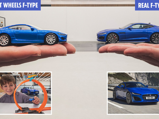 Jaguar's Hot Wheels F-Type will leave kids desperate to try the real thing — and they won't be disappointed