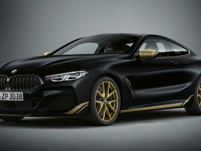 BMW 8 Series Golden Thunder Edition revealed