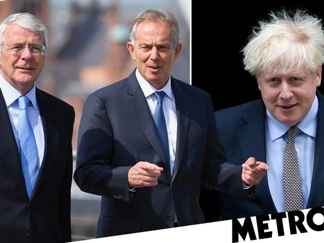 Tony Blair and John Major say Boris is 'shaming Britain' with Brexit deal changes