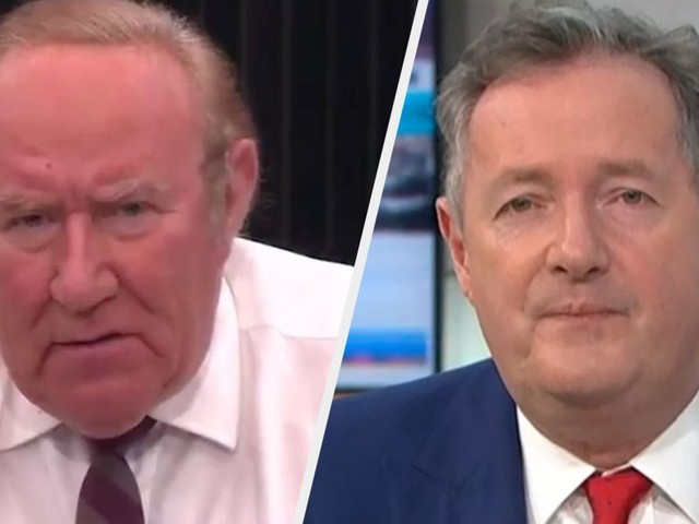 Andrew Neil Issues Warning To Piers Morgan Over Latest Career Move